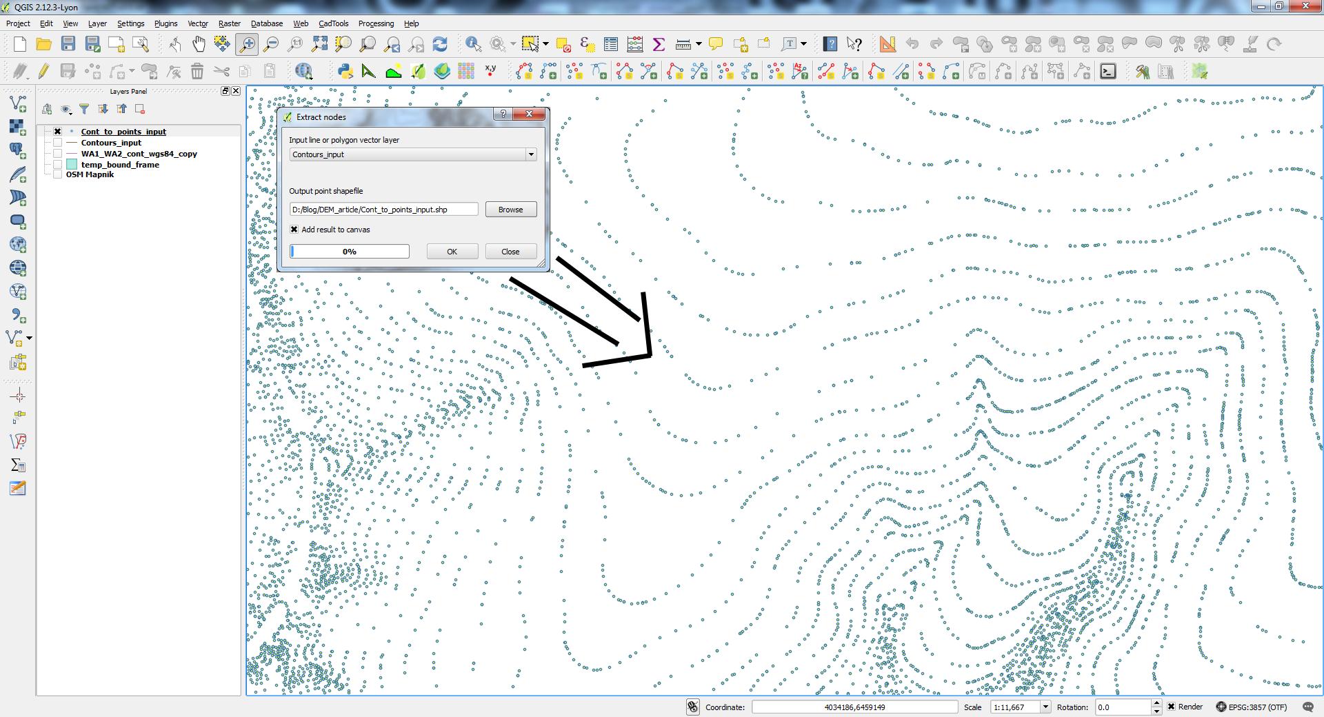 contour definition geography