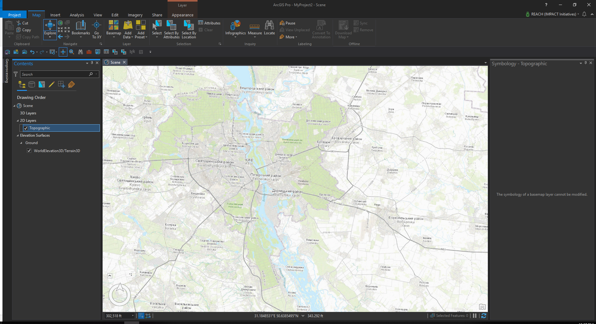 First impressions from migrating to ArcGIS Pro